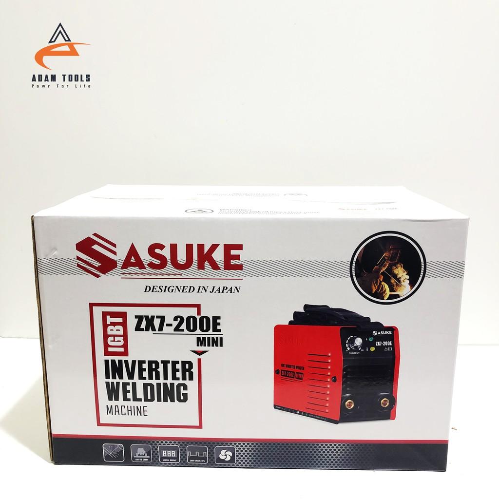 Máy Hàn Điện Tử Mini Inverter Sasuke ZX7-200E Nhật Bản