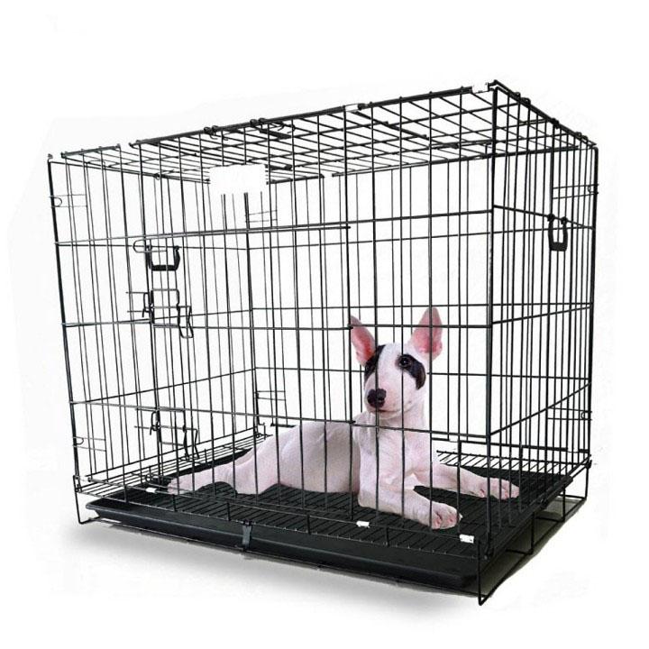 Chuồng Chó Mèo Gấp Gọn Sơn Tĩnh Điện