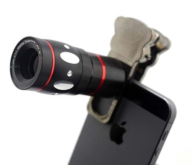 (Bộ lens cho điện thoại 4 in 1)