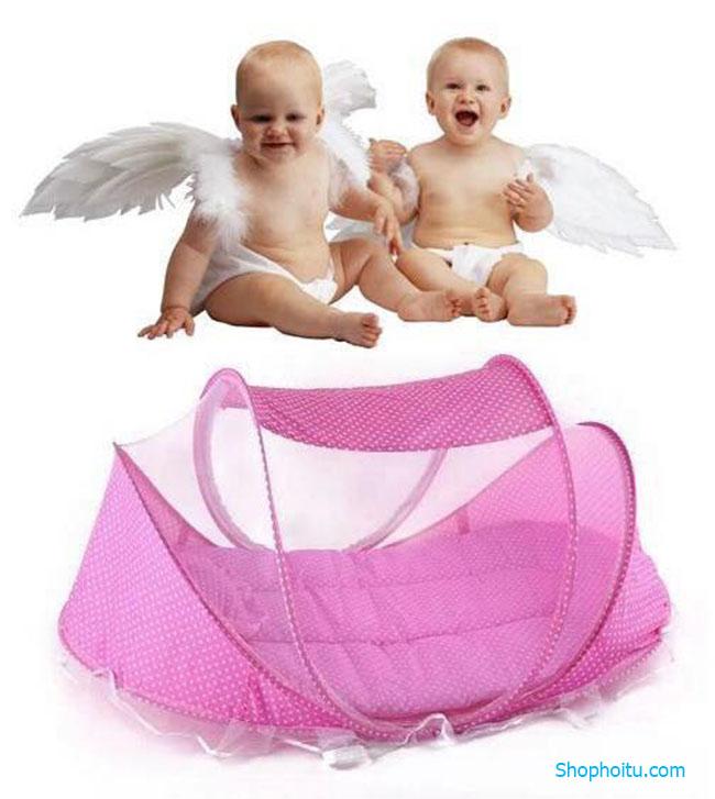 Mùng ngủ chống muỗi cho bé