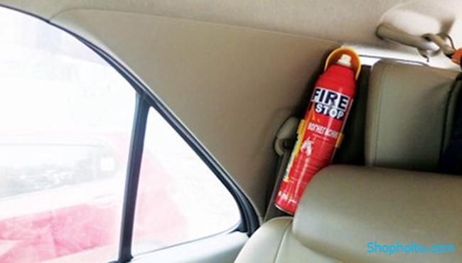 Bình Chữa Cháy Mini Cho Ô tô và Xe máy