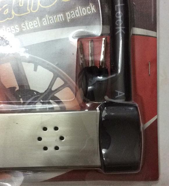 Khóa chữ U báo động âm thanh chống trộm LK605