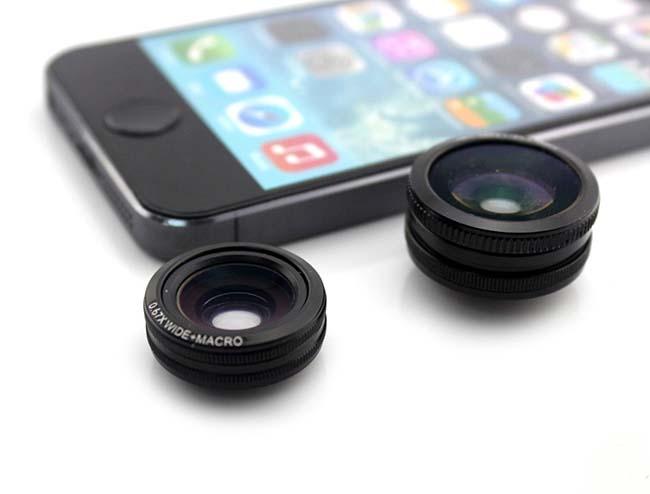 Bộ lens cho điện thoại 4 in 1