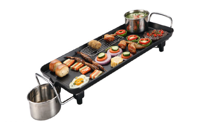 Khay nướng điện cao cấp Electric Barbecue Plate Model DS6048
