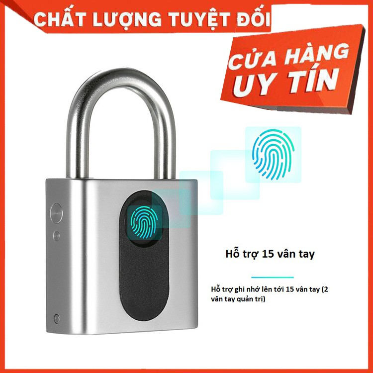 Ổ Khóa Vân Tay Thông Minh GS40S