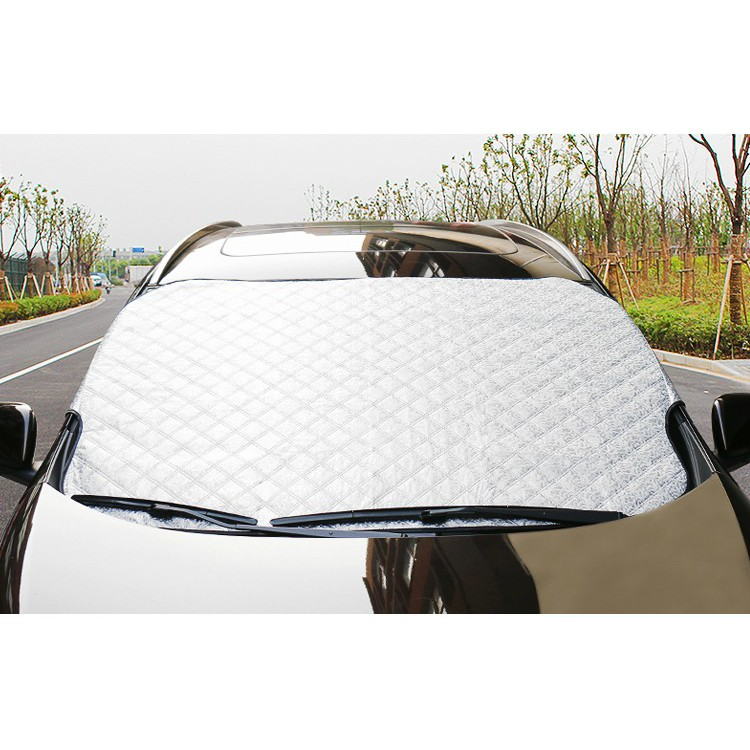 Bạt che nắng kính lái xe ô tô hàng dày phản quang 3 lớp