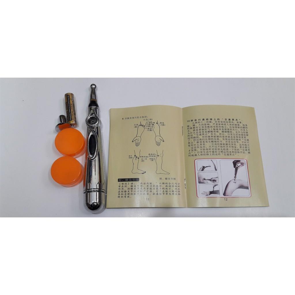 Bút Châm Cứu Trị Liệu Xung Điện W 912  Cao Cấp