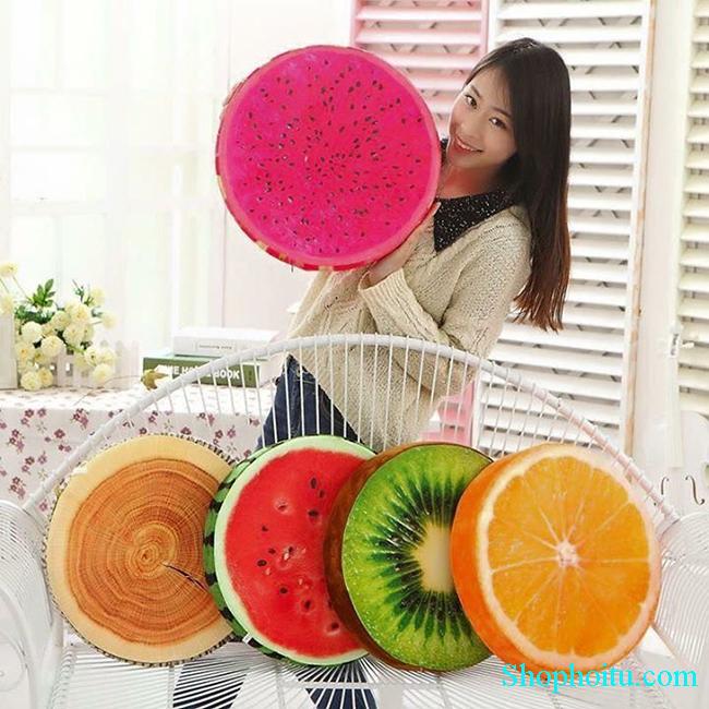 Gối 3D hình hoa quả cực đẹp