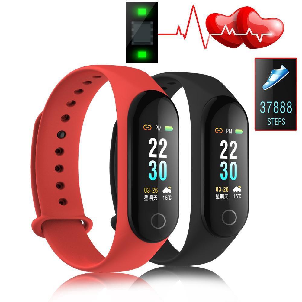 Vòng đeo tay thông minh theo dõi nhịp tim và giấc ngủ M2