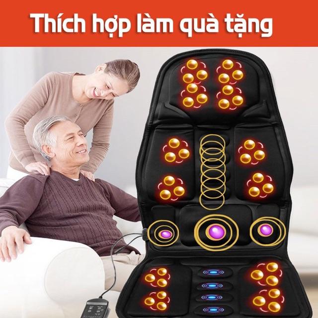 Nệm massage toàn thân Reversibile Tạo Nhiệt Cao Cấp