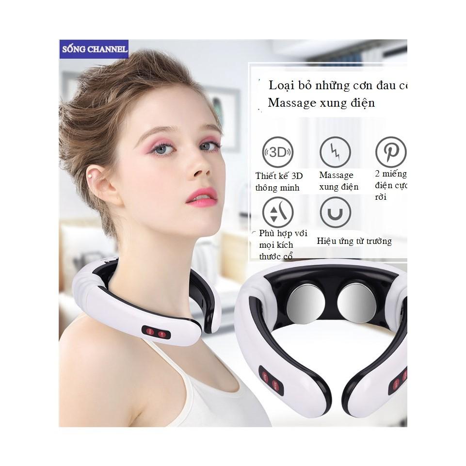Máy Massage Cổ Vai Gáy 3D KL-5830 Chính Hãng