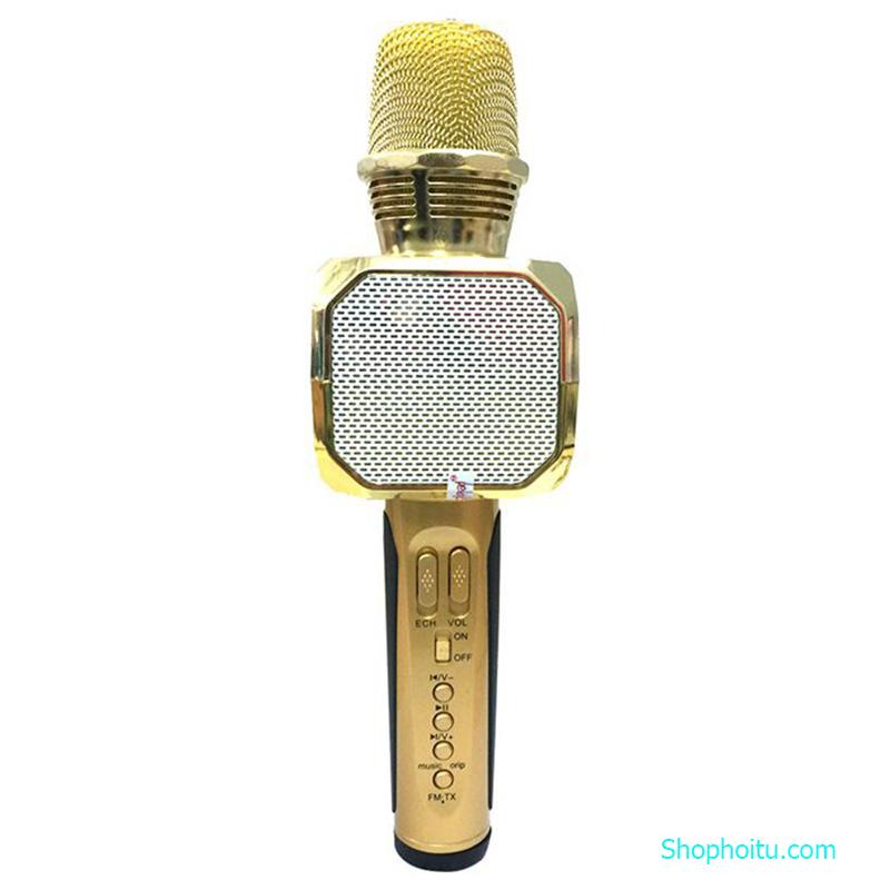 MIC Karaoke SD 10 Kèm Loa Buetooth Cao Cấp