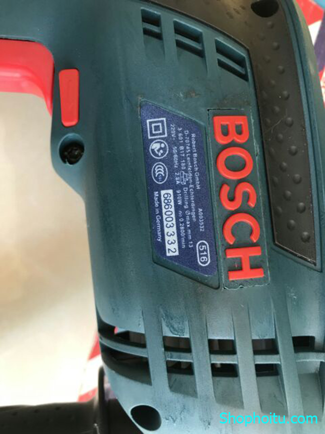 Máy Khoan Pin Bosch 13 Ly TẶNG NGAY 6 Mũi Khoan