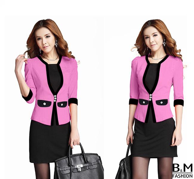 Áo vest nữ lửng công sở