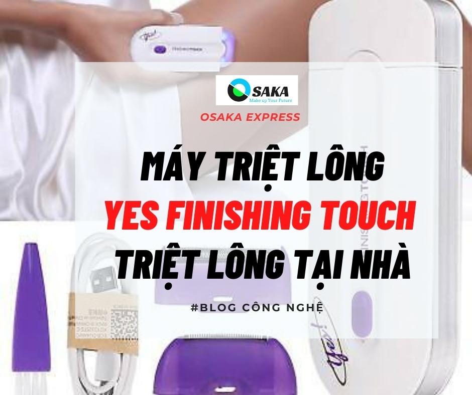 Máy Triệt Lông Cảm Ứng Yes Finishing Touch