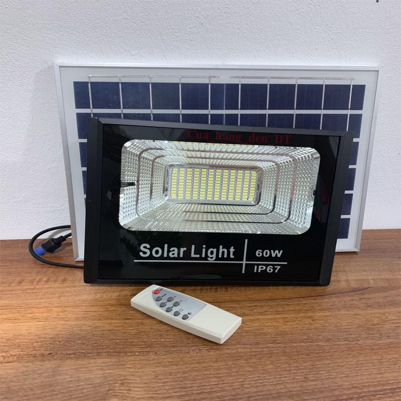 Đèn led pha năng lượng mặt trời siêu sáng