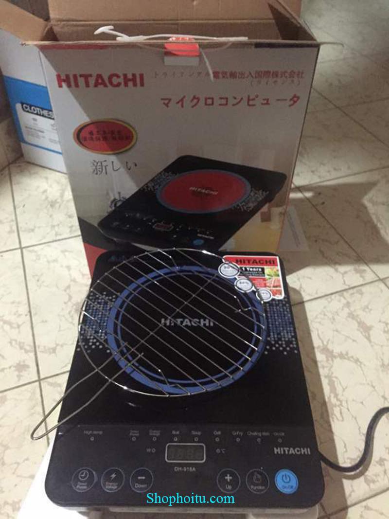 Bếp hồng ngoại Hitach mặt kính Nhật Bản cao cấp