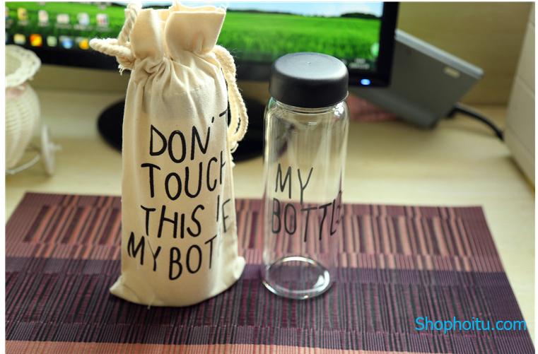 """Bình Nước + Túi """"My Bottle"""""""