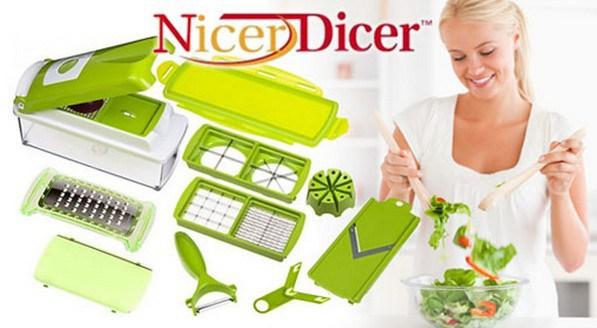 dụng cụ cắt rau củ đa năng nicer dicer plus