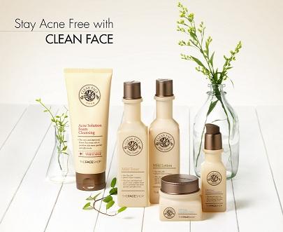 Sữa dưỡng trị mụn Clean Face