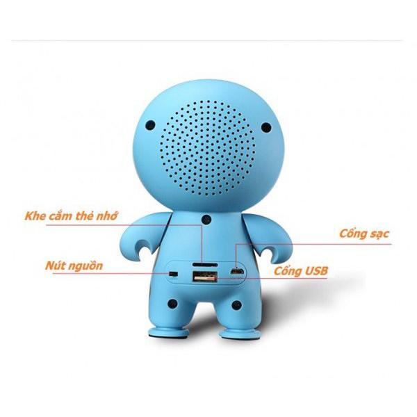 Loa  Mini A9 Big Hero Speaker có âm thanh chắc, khỏe, đặc biệt là âm bass nổi. Đây là dòng sản phẩm chất lượng, giá rẻ, rất hợp khi sử dụng.Đây là loại loa nghe nhạc phù hợp rất nhiều các thể loại âm nhạc.Bạn có thể nghe những thể loại nhạc Rock rực lửa đến những bản tình khúc du dương.