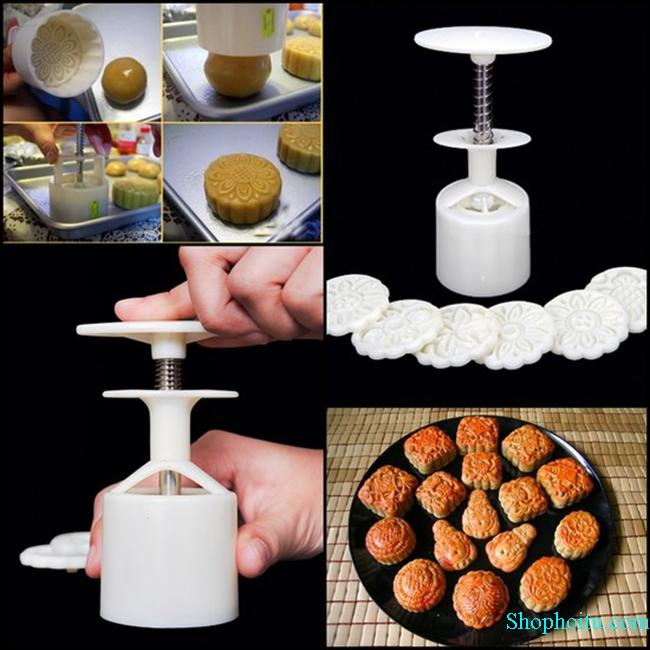 Bộ khuôn làm bánh Trung thu (50g)