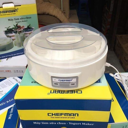 Máy Làm Sữa Chua Chefman CM302T- 8 Cốc Thủy Tinh