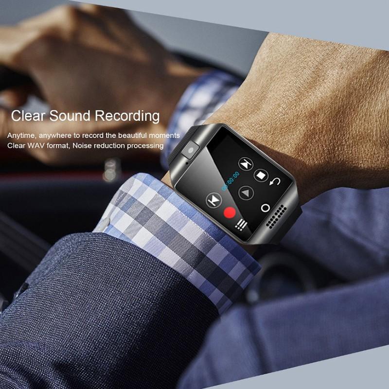 Đồng hồ thông minh kết nối Bluetooth Q18 hỗ trợ thẻ SIM và thẻ nhớ TF