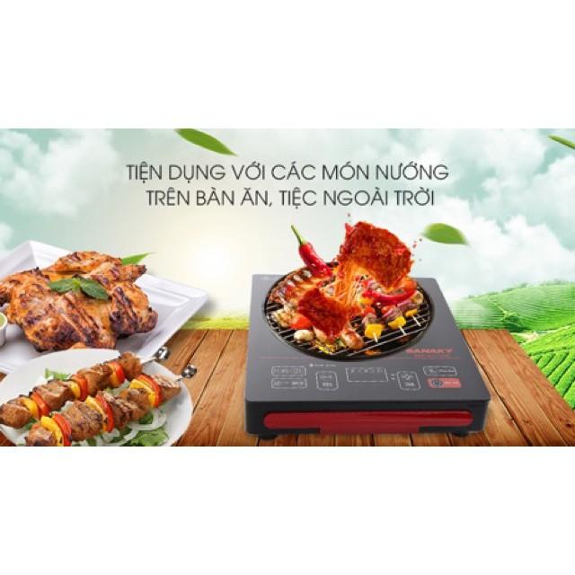 Bếp Hồng Ngoại Sanaky SNK-2101HG(Tặng Nồi Và Vỉ Nướng)