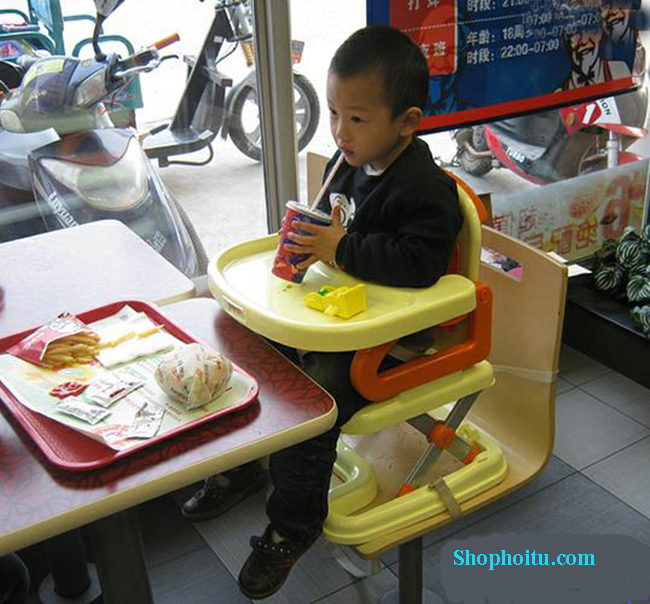 Ghế ngồi ăn cho bé Chair 2 tầng tiện cao cấp