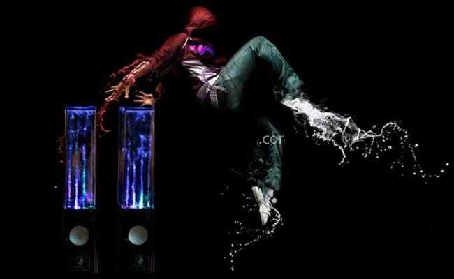loa nhạc nước water dancing speaker