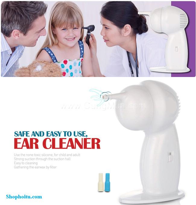 Máy hút ráy tai tiện lợi EAR CLEANER
