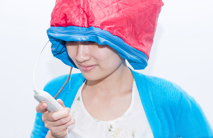 Mũ hấp tóc cá nhân tại nhà