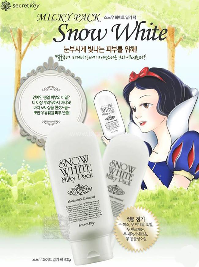 kem trắng da toàn thân snow white