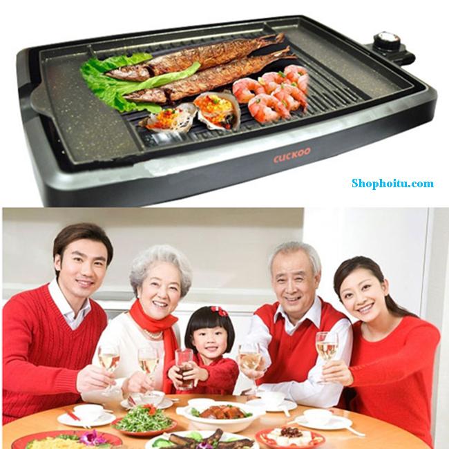 Bếp nướng điện Hàn Quốc Cuckoo HP 4025