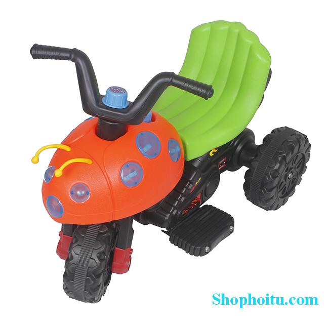 Xe máy điện trẻ em hình con bọ dừa