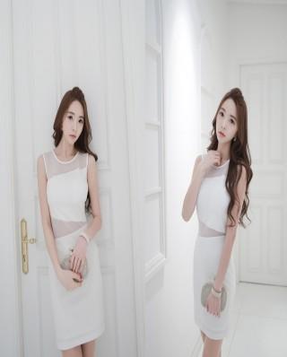 Đầm trắng phong cách cho bạn gái