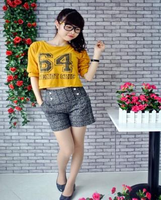 Áo phông quần short cá tính