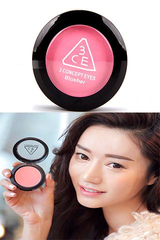 Phấn má hồng tự nhiên Hàn Quốc 3 Concept Eyes
