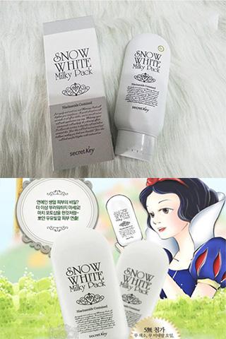 Kem trắng da toàn thân Snow White Milky Pack Hàn Quốc
