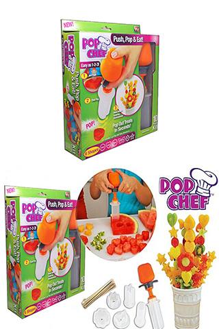 Bộ khuôn cắt trái cây Pop Chef siêu nhanh