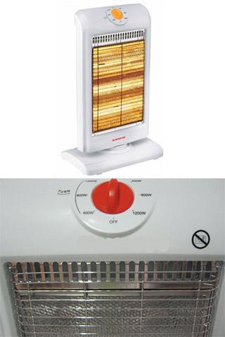 Quạt sưởi điện halogen 3 bóng Sunhouse SHD 7016