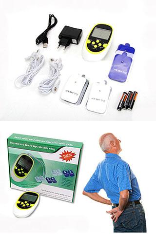 Máy massage trị liệu xung điện 8 miếng dán