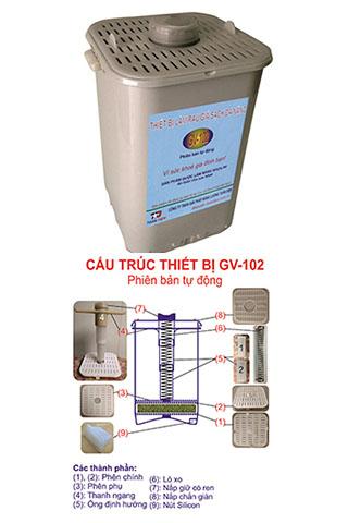 Máy làm giá sạch đa năng GV-102 Phiên bản tự động