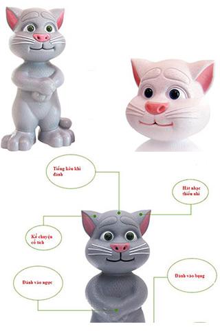 Mèo Tom Biết Nói Phiên Bản  2015