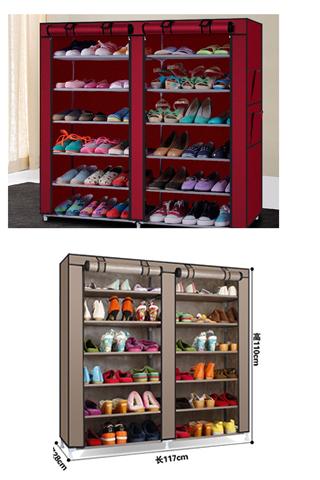 Tủ để giày 6 tầng 12 ngăn cao cấp