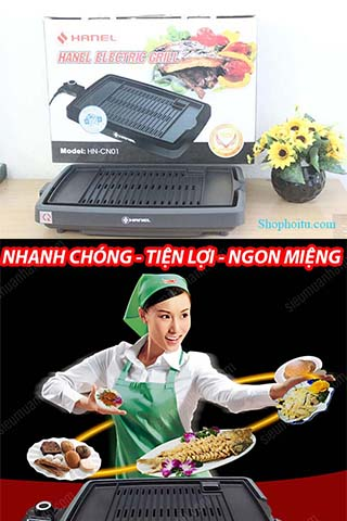 Bếp Nướng Điện Không khói Hanel HN-CN01 Cao Cấp