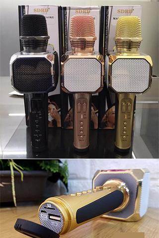 MIC Karaoke SD 10 Kèm Loa Bluetooth Cao Cấp