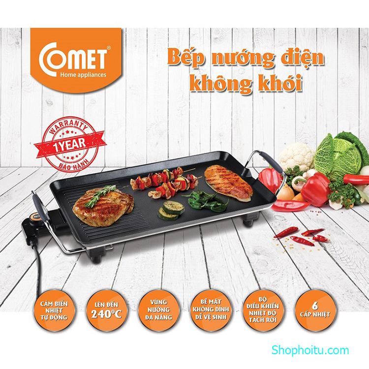 Bếp nướng không khói Comet CM5665