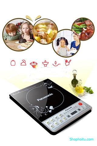 Bếp Từ Panasonic Tặng Nồi Inox Cao Cấp